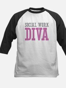 Social Work DIVA Baseball Jersey