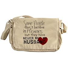 Husband hero Messenger Bag
