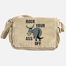 Rock your ass off Messenger Bag