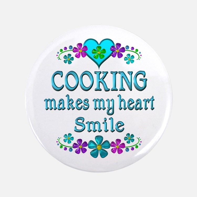 Cooking Smiles Button