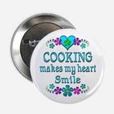 "Cooking Smiles 2.25"" Button"