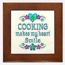 Cooking Smiles Framed Tile
