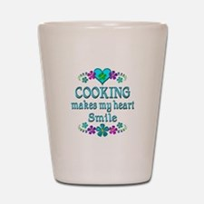 Cooking Smiles Shot Glass