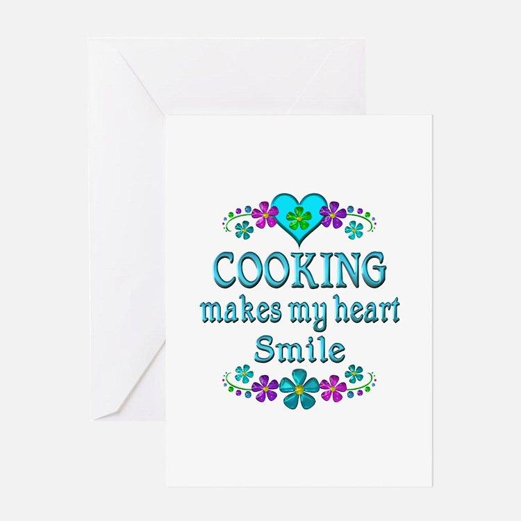 Cooking Smiles Greeting Card