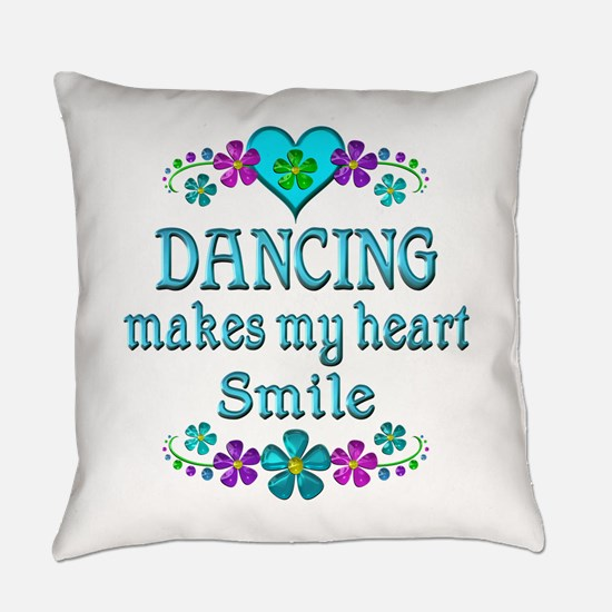 Dancing Smiles Everyday Pillow
