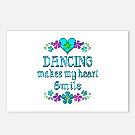 Dancing Smiles Postcards (Package of 8)