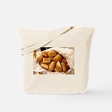Basket of Dinner Rolls Tote Bag