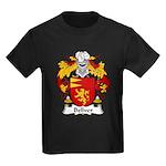 Bellver Family Crest Kids Dark T-Shirt