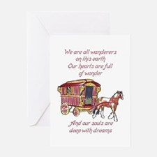 GYPSY PROVERB Greeting Cards
