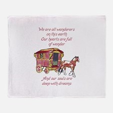 GYPSY PROVERB Throw Blanket
