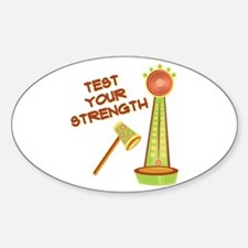 Test Your Strength Decal