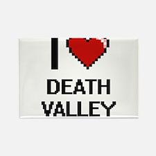 I love Death Valley digital design Magnets