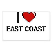 I love East Coast digital design Decal