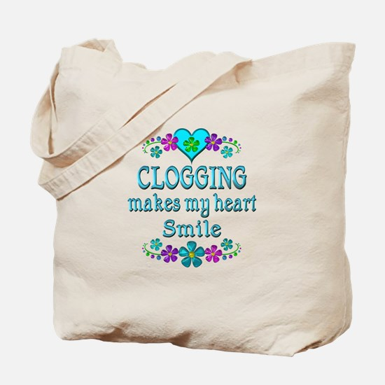 Clogging Smiles Tote Bag