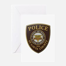 St Louis County Police Greeting Cards