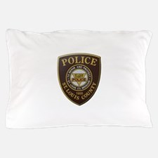 St Louis County Police Pillow Case