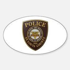 St Louis County Police Decal