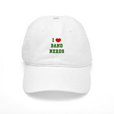I Heart Band Nerds Baseball Cap