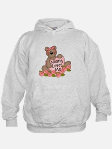Nonna Loves Me CUTE Bear Hoodie