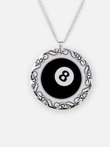 Cute Billiards Necklace