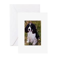 Springer Spaniel Pup Greeting Card