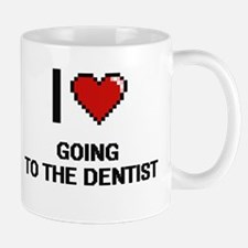I love Going To The Dentist digital design Mugs