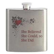 She Believed - 3 Flask