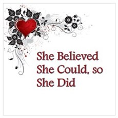 She Believed - 3 Poster