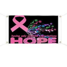 Hope for Breast Cancer Banner