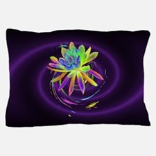 Psychedelic Flower Pillow Case