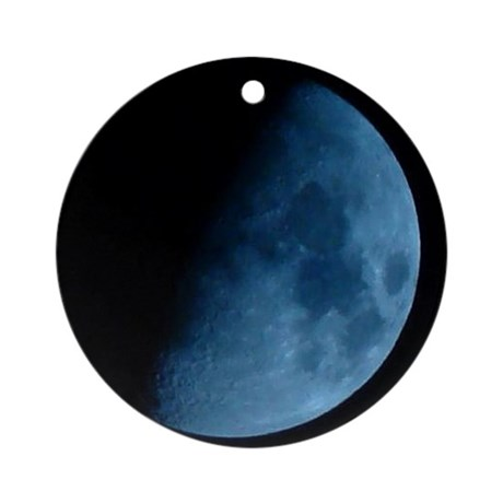 Blue Moon Ornament (Round)