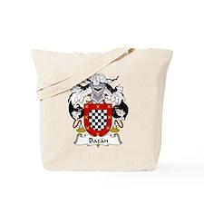 Bazan Family Crest Tote Bag
