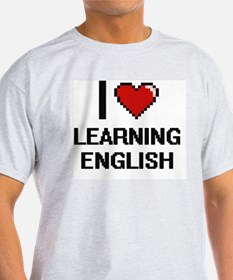 I love Learning English digital T-Shirt
