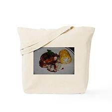 Barbecue Chicken and Corn Tote Bag