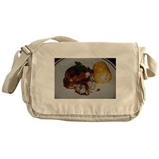 Barbecue Chicken and Corn Messenger Bag
