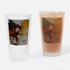 Barbecue Chicken and Corn Drinking Glass