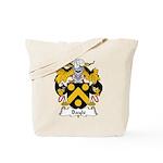 Bayle Family Crest Tote Bag