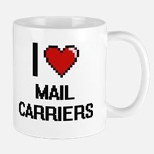I love Mail Carriers digital design Mugs