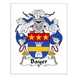 Bayer Family Crest Small Poster