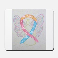 CDH Awareness Ribbon Angel Mousepad