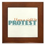 Freedom of Speech Tile (Framed)