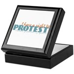 Freedom of Speech Keepsake Box