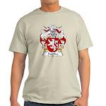 Bastida Family Crest Light T-Shirt