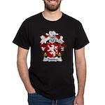 Bastida Family Crest Dark T-Shirt