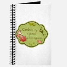 Gardening is good for my soul Journal