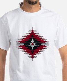 Native Style Red/Black Sunburst Shirt