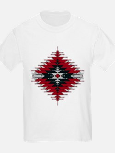 Native Style Red/Black Sunburst T-Shirt