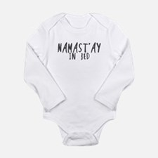 Namast'ay in bed Body Suit