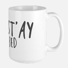 Namast'ay in bed Mugs