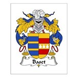 Baset Family Crest Small Poster
